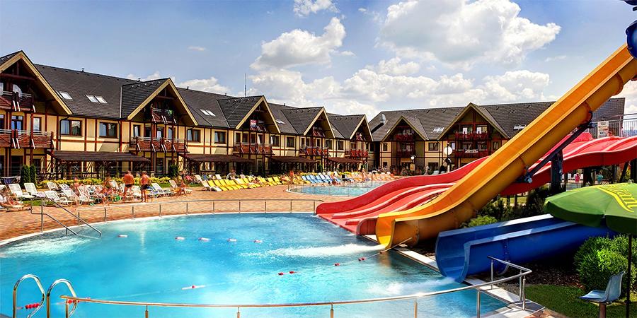 Do Království zážitků! Pobyt pro dva i celou rodinu ve Vodním parku Bešeňová s termálními bazény