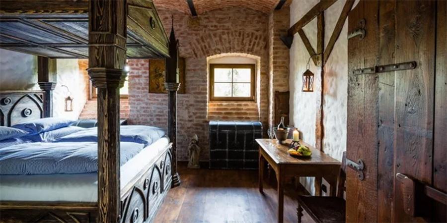 Středověké ubytování a pohádkové sny