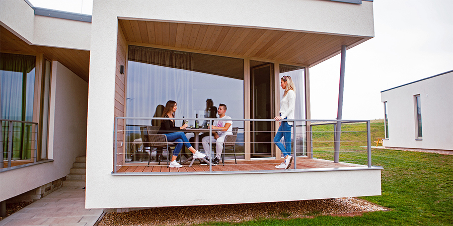 Letní relax s výlety s překrásným výhledem na Krkonoše